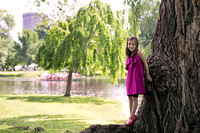 Smiles in Boston Public Garden | Stephanie Clement | Andover Boston MA Photography