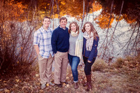 Teen Family Portrait | Stephanie Clement | Andover Boston MA Photography