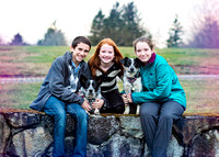 Holiday session with the pups | Stephanie Clement | Andover Boston MA Photography