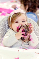 Cake Smash! | Stephanie Clement | Andover Boston MA Photography